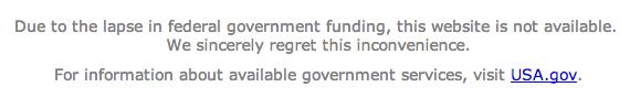 government shutdown роспуск правительства США