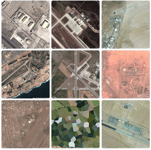 спутниковые фотографии военных баз