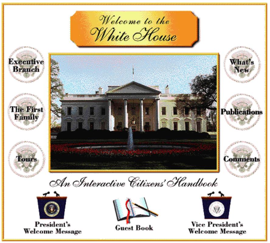 Официальный сайт белого дома